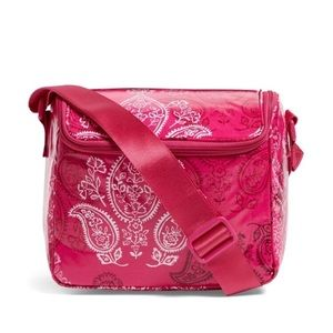 Vera Bradley Stay Cooler Lunch Bag Stamped Paisley